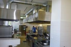 Vzduchotechnika školní kuchyně